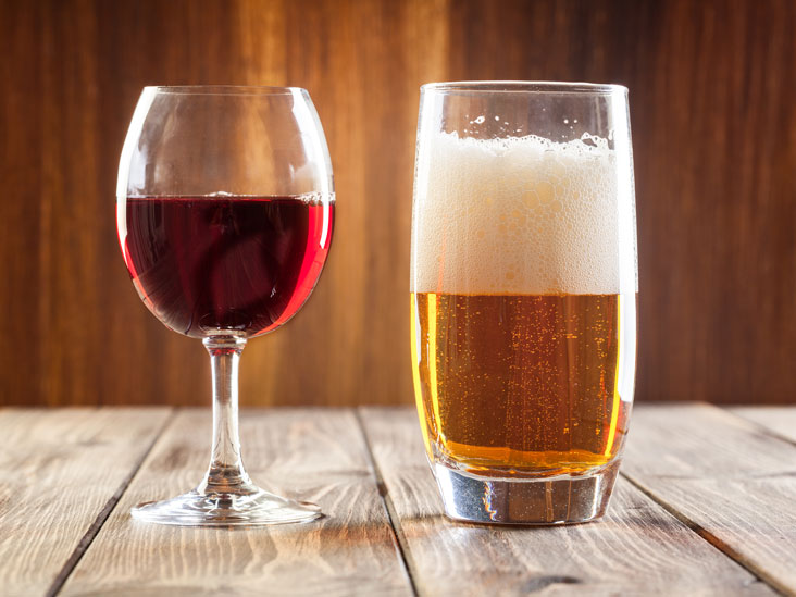 Wine or beer? The differing effects of alcohol on mood